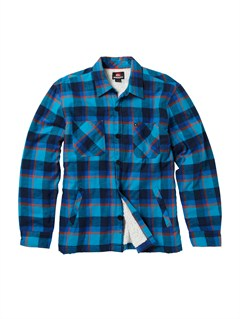 BMJ1Bam Bam Long Sleeve Flannel Shirt by Quiksilver - FRT1