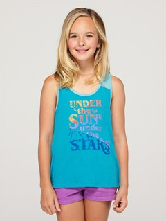 BNY0Girls 7- 4 Anchored Baseball Tee by Roxy - FRT1