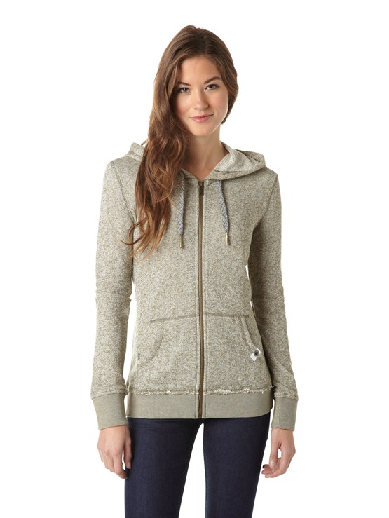 GPZ0Glacial 2 Zip Up Hooded Fleece by Roxy - FRT1