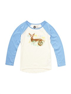WBS0Girls 2-6 Foal L Long Sleeve Tee by Roxy - FRT1