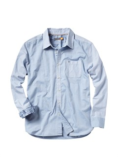 BLUMen s Back Bay Long Sleeve Shirt by Quiksilver - FRT1