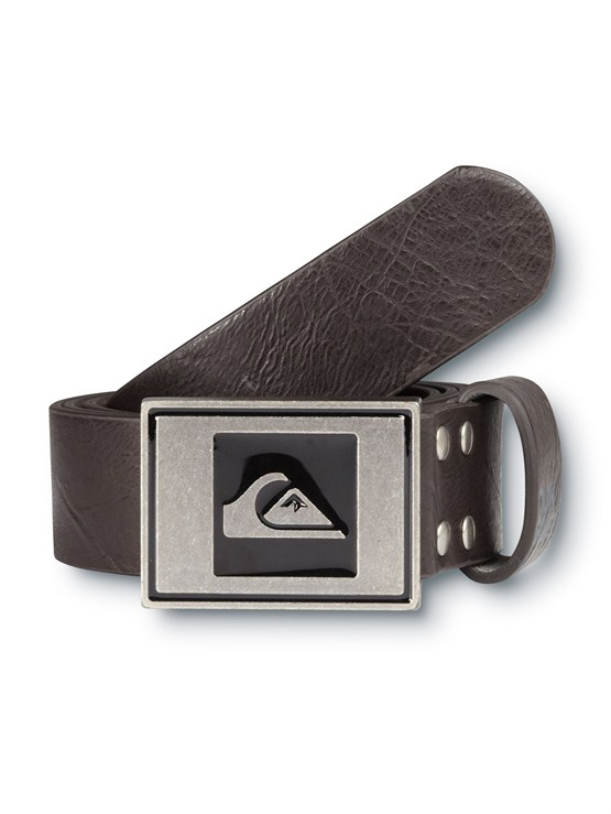 DBRSector Leather Belt by Quiksilver - FRT1