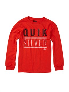 RQF0Boys 2-7 Surf Division Long Sleeve Hooded T-Shirt by Quiksilver - FRT1