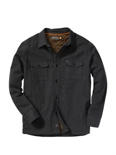 KSA0Fuzzy Goggles Long Sleeve Flannel Shirt by Quiksilver - FRT1