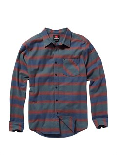 KRD1Meet On Long Sleeve Flannel Shirt by Quiksilver - FRT1