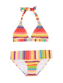 MNA4Girls 7- 4 Beach Bound 70s Halter Set With Cups by Roxy - FRT1