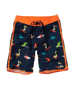KTP6Boys 8- 6 Kelly Boardshorts by Quiksilver - FRT1