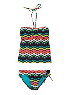 KVJ4Girls 7- 4 Syncro 2MM SS Springsuit Back Zip by Roxy - FRT1