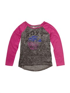 SGRHGirls 2-6 Block Rocks Harmony Tee by Roxy - FRT1