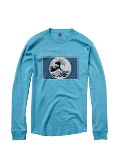 BLK0Afterdark Long Sleeve T-Shirt by Quiksilver - FRT1