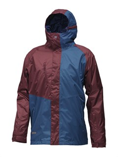 MERTravis Rice Polar Pillow  5K Jacket by Quiksilver - FRT1