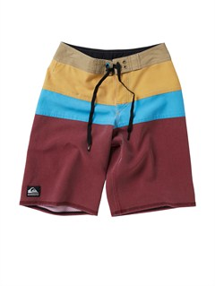 SGABoys 8- 6 Kelly Boardshorts by Quiksilver - FRT1
