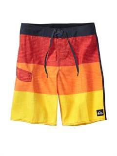 YJZ3Boys 8- 6 Kelly Boardshorts by Quiksilver - FRT1