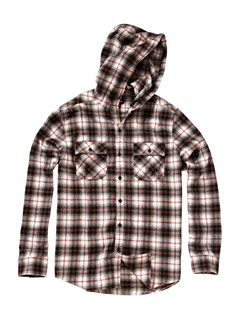 KVJ1Boys 8- 6 Bam Bam Long Sleeve Flannel Shirt by Quiksilver - FRT1