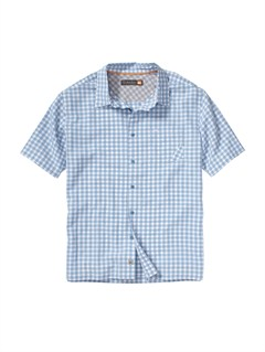 BHC0Men s Deep Water Bay Short Sleeve Shirt by Quiksilver - FRT1