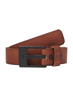 CPG0Sector Leather Belt by Quiksilver - FRT1