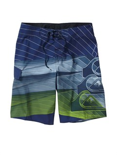 "BSA6AG47 New Wave Bonded  9"" Boardshorts by Quiksilver - FRT1"