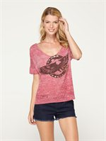 MQG0COTTON CANDY TEE by Roxy - FRT1