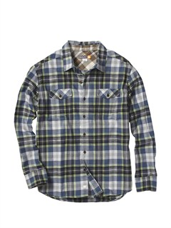 DBLMen s Hazard Cove Long Sleeve Flannel Shirt by Quiksilver - FRT1