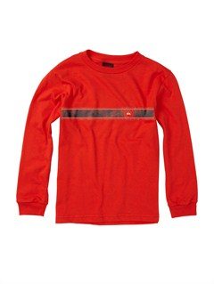 RQF0Boys 2-7 Old Brew Long Sleeve Hooded T-Shirt by Quiksilver - FRT1