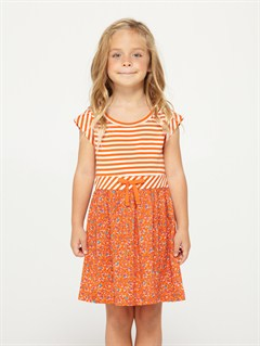 HTOGirls 2-6 Block Party Dress by Roxy - FRT1