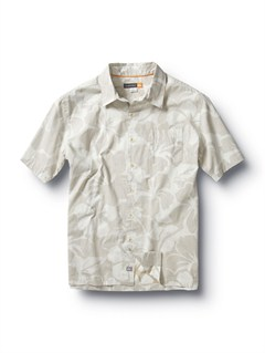 SSTMen s Baracoa Coast Short Sleeve Shirt by Quiksilver - FRT1