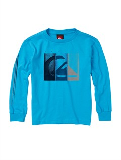BMJ0Boys 2-7 Surf Division Long Sleeve Hooded T-Shirt by Quiksilver - FRT1