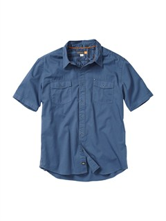 BNT0Men s Baracoa Coast Short Sleeve Shirt by Quiksilver - FRT1