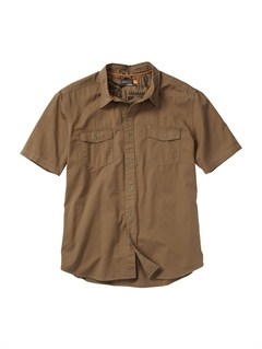 GPZ0Men s Aganoa Bay Short Sleeve Shirt by Quiksilver - FRT1