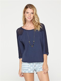 BTN0Spring Fling Long Sleeve Top by Roxy - FRT1