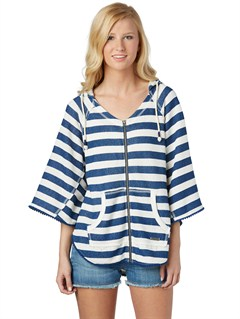 SGR3Beauty Stardust Striped Hoodie by Roxy - FRT1