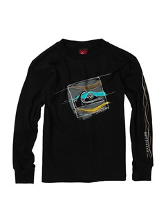 KVJ0Boys 2-7 Surf Division Long Sleeve Hooded T-Shirt by Quiksilver - FRT1