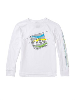 WBB0Boys 2-7 Surf Division Long Sleeve Hooded T-Shirt by Quiksilver - FRT1