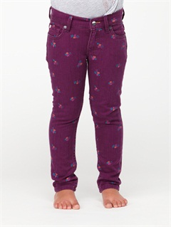 PAPGirls 2-6 Tawana Rinse Pants by Roxy - FRT1