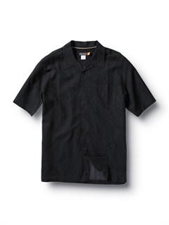 BLKCrossed Eyes Short Sleeve Shirt by Quiksilver - FRT1