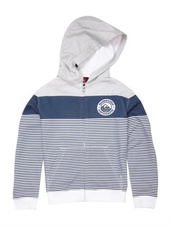 BRQ0Boys 8- 6 Checker Hoody by Quiksilver - FRT1