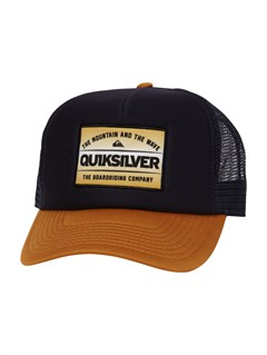 BTK0Please Hold Trucker Hat by Quiksilver - FRT1