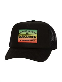 RNN0Please Hold Trucker Hat by Quiksilver - FRT1