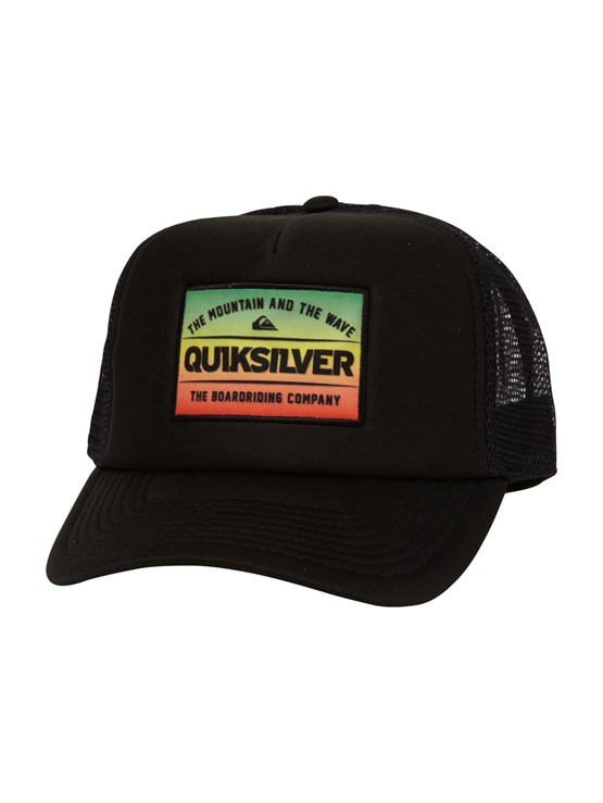 RNN0Empire Trucker Hat by Quiksilver - FRT1