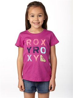 MNF0Girls 2-6 Block Rocks Harmony Tee by Roxy - FRT1