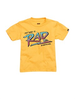 NKB0Boys 2-7 Rad Dad T-Shirt by Quiksilver - FRT1