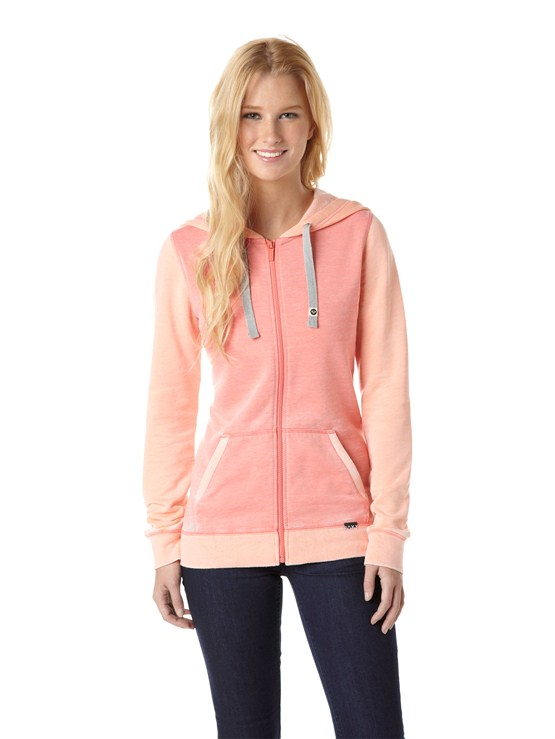 MJJ0Glacial 2 Zip Up Hooded Fleece by Roxy - FRT1