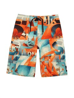 NKB6Boys 2-7 Batter Volley Boardshorts by Quiksilver - FRT1