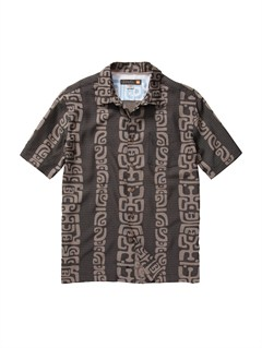 KVJ0Men s Anahola Bay Short Sleeve Shirt by Quiksilver - FRT1