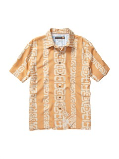 NKE0Crossed Eyes Short Sleeve Shirt by Quiksilver - FRT1