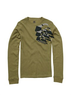 GNR0Boys 2-7 Old Brew Long Sleeve Hooded T-Shirt by Quiksilver - FRT1