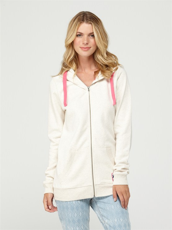 TFE0Glacial 2 Zip Up Hooded Fleece by Roxy - FRT1