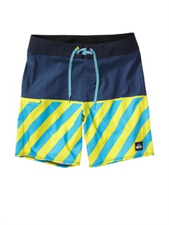 BRQ6Boys 8- 6 Kelly Boardshorts by Quiksilver - FRT1