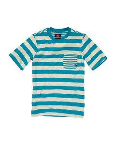 BNY3Boys 8- 6 Score Core Heather T-Shirt by Quiksilver - FRT1