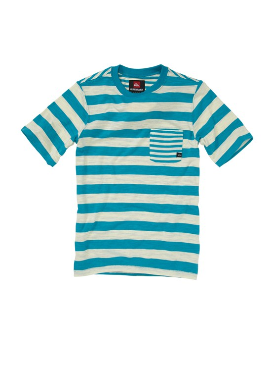 BNY3Boys 8- 6 Mountain And Wave Shirt by Quiksilver - FRT1